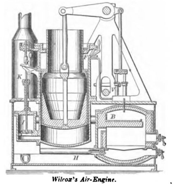Wilcox's Hot Air Engine