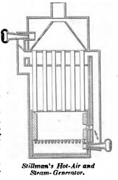 Stillman's Hot Air Engine 1864
