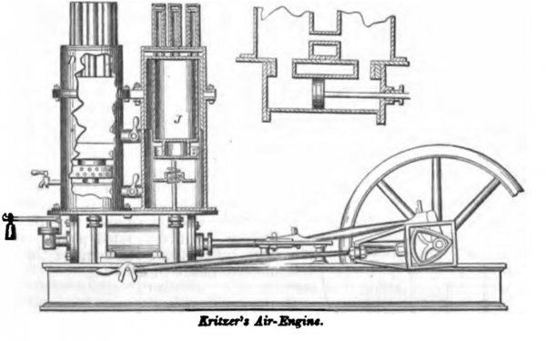 Kritzer's Hot Air Engine