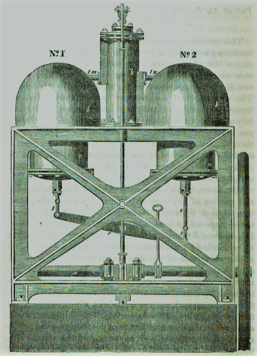 Parkinson and Crossley's Air Engine - Fig. 1